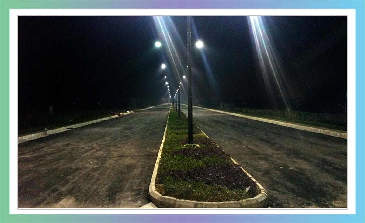 Shree Vardhman City - Night View