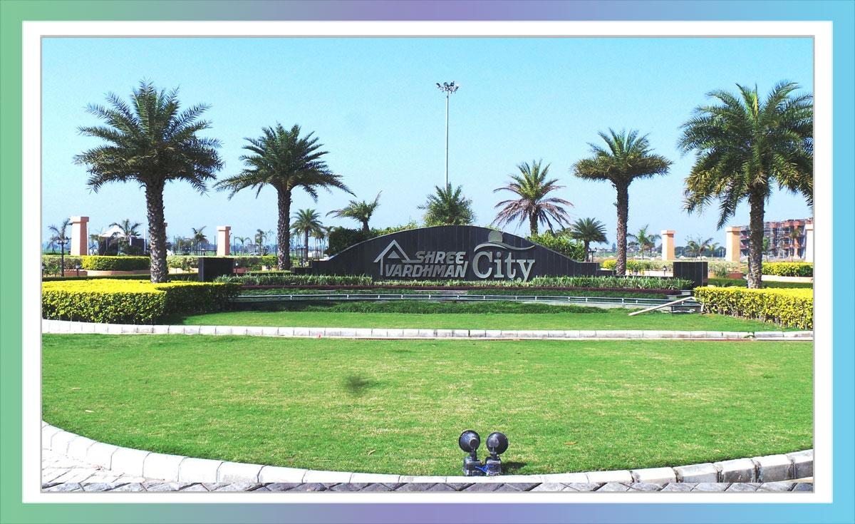 Shree Vardhman City - Entry