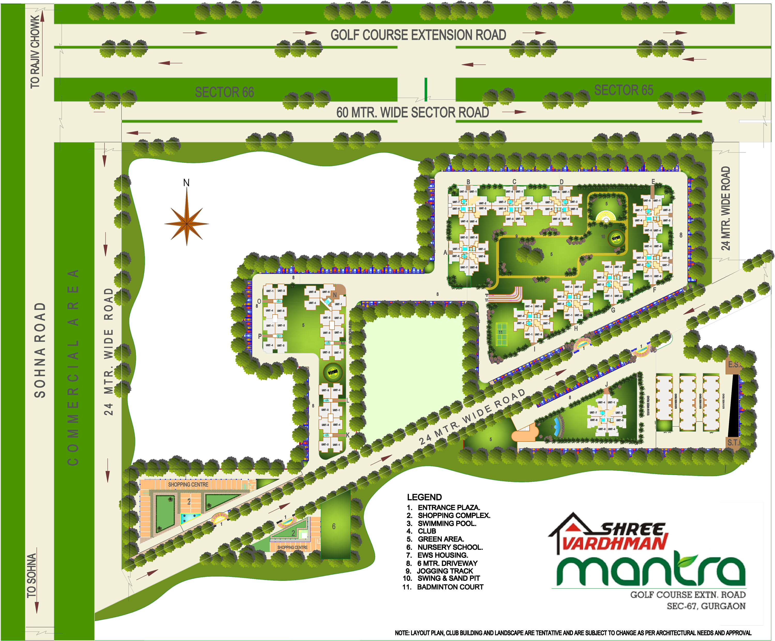 Shree Vardhman Mantra-Site Map