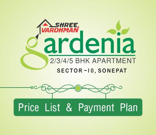 Shree Vardhman Gardenia - Price List