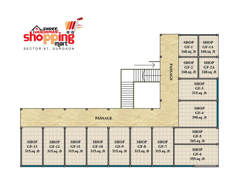 Shree Vardhman Shopping Mart - Ground Floor