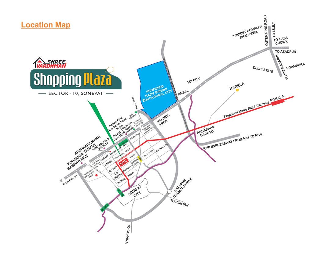 Shree Vardhman Shopping Plaza
